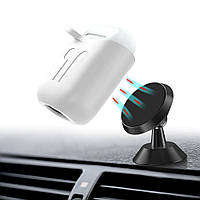 Чехол BeWatch силиконовый магнитное крепление для Apple AirPods Белый 5020102, КОД: 1176907