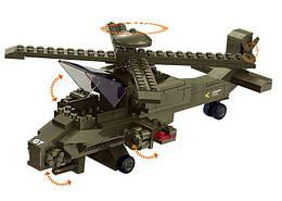Конструктор SLUBAN M38-B0298 АРМИЯ -  Вертолет (199 дет.)