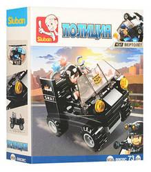 Конструктор SLUBAN M38-B0638C ПОЛІЦІЯ - Машина (73 дит.)