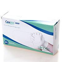 Перчатки латексные опудренные Care365 S/M/L (100 шт/уп)