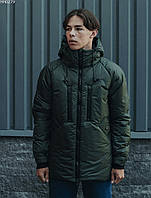 Мужская зимняя куртка Staff finks haki, фото 1