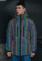 Мужская зимняя куртка Staff finks chameleon, фото 1