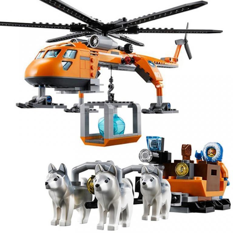 Конструктор BELA 10439 МІСТО - Арктичний вертоліт (273 дит.)