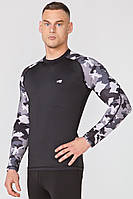 Футболка спортивная Radical Furious Army LS XXL Черный с серым r0349, КОД: 961461
