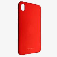 Чехол-накладка Silicone Hana Molan Cano для Xiaomi Redmi 7A Красный, КОД: 1672267