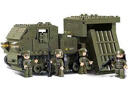 Конструктор SLUBAN M38-B0303 АРМІЯ - Військова машина (314 дит.)