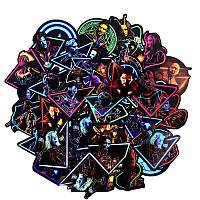 Наклейки ZF MARVEL The Avengers Мстители Неон 48 шт AJtheave, КОД: 2399925