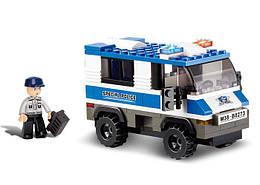 Конструктор SLUBAN M38-B0273 ПОЛІЦІЯ - Поліцейська машина (126 дит.)