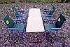 Складная туристическая мебель для пикника ( 2 стола + 4 кресла )