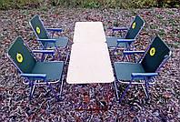 Складная туристическая мебель для пикника ( 2 стола + 4 кресла ), фото 1