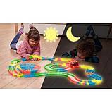 Іграшкова залізниця конструктор Magic Tracks на 220 деталей, фото 2