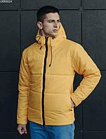 Мужская зимняя куртка Staff basic yellow, фото 1