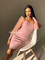Женское стильное платье по фигуре