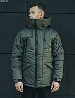 Мужская зимняя куртка Staff aves khaki, фото 1