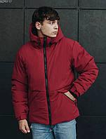 Мужская зимняя куртка Staff D bordo, фото 1