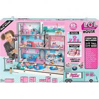 Модний особняк Лол. Ляльковий будинок для лол. Будинок для ляльок лол