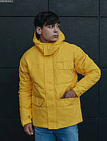 Мужская зимняя куртка Staff pas yellow, фото 1