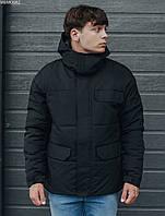 Мужская зимняя куртка Staff pas black, фото 1