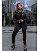 Женская куртка-дождевик Staff black, фото 1