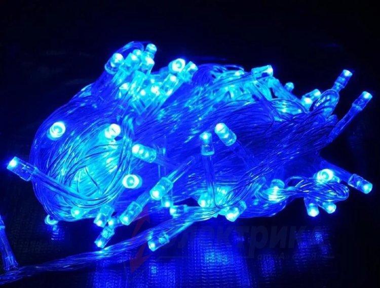 Гирлянда Диод 100LED RD-9031 Цвет ламп-Синий 183760