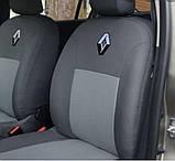 Авточохли Favorite на Renault Dacia Logan MCV2004-2010 року універсал модельний комплект, фото 8