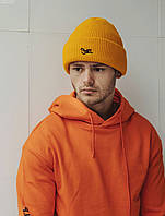 Мужская шапка Staff yellow, фото 1