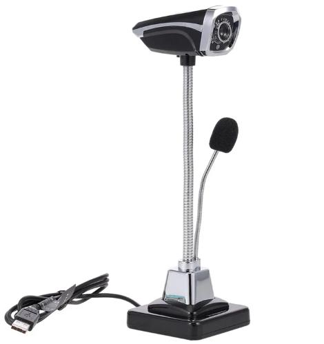 Веб камера з підсвічуванням і мікрофоном на штативі!