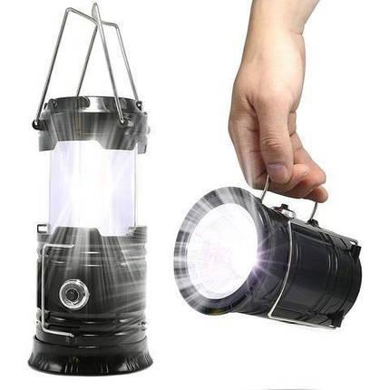 Фонарь для кемпинга XF-5800T с эффектом пламени 149661, фото 2
