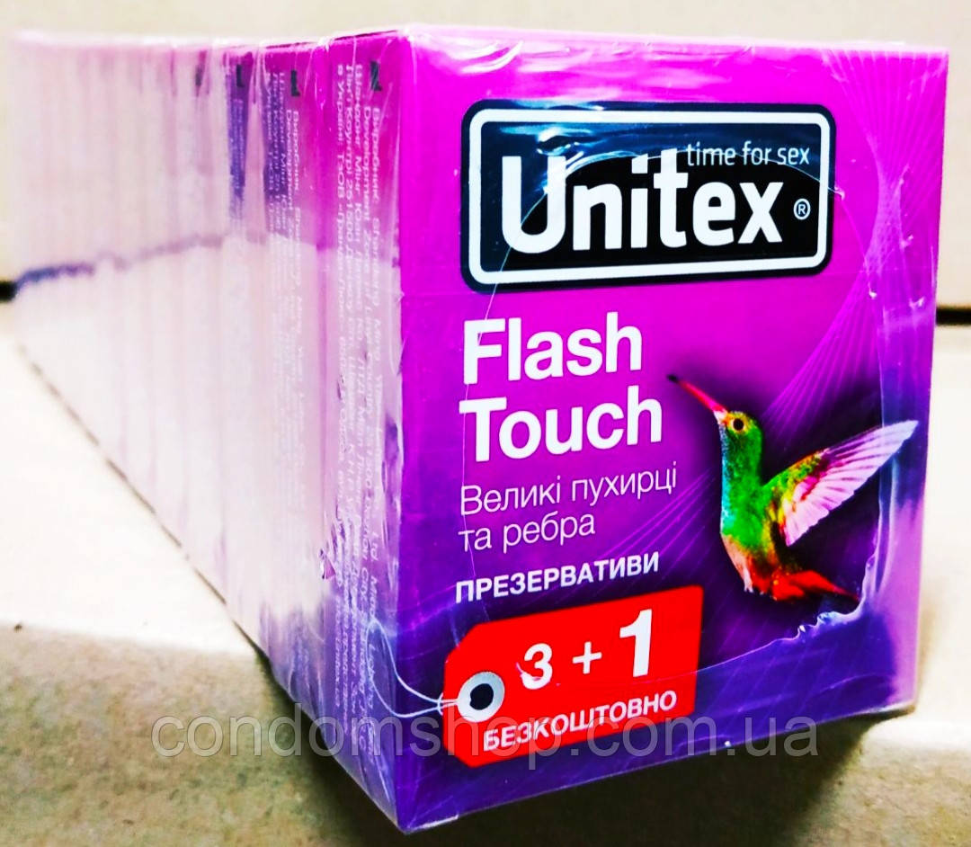 Презервативы Unitex Юнитекс 2 в 1 ребристо точечные ,рёбра+точки 48 шт.Лучшее качество !