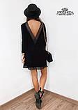 """Женское платье с кружевом из трикотажа """"Magnolia"""", фото 5"""