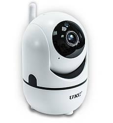 Поворотная WiFi IP камера видеонаблюдения для дома и квартиры UKC CAD Y13G Вай Фай видеонаблюдение (GK)