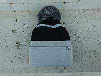 Мужская шапка Staff light gray & black, фото 1