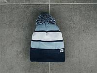 Мужская шапка Staff navy & blue, фото 1