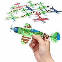 Детский комнатный планирующий самолетик с пропеллером 131720, фото 2