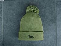 Мужская шапка Staff logo light khaki, фото 1
