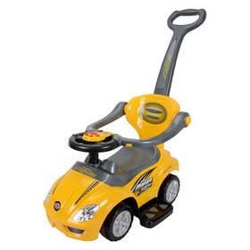 Толокар OCIE Magic car с ручкой желтый