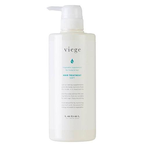 Маска для глубокого увлажнения волос Lebel Viege Treatment Soft 600 мл.