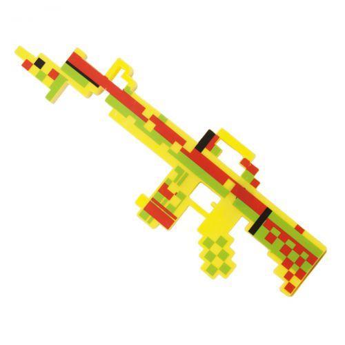 """Автомат """"MINECRAFT"""" (желтый) 3848A"""