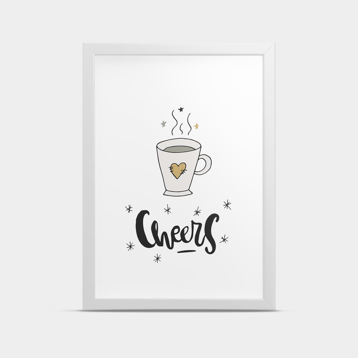 Постер Cheers 30*40 см