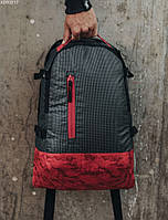 Рюкзак Staff 30L dark & red, фото 1