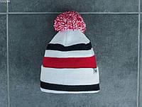 Мужская шапка Staff red & white, фото 1