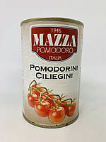 Томаты черри Mazza в собственном соку 400 г Италия