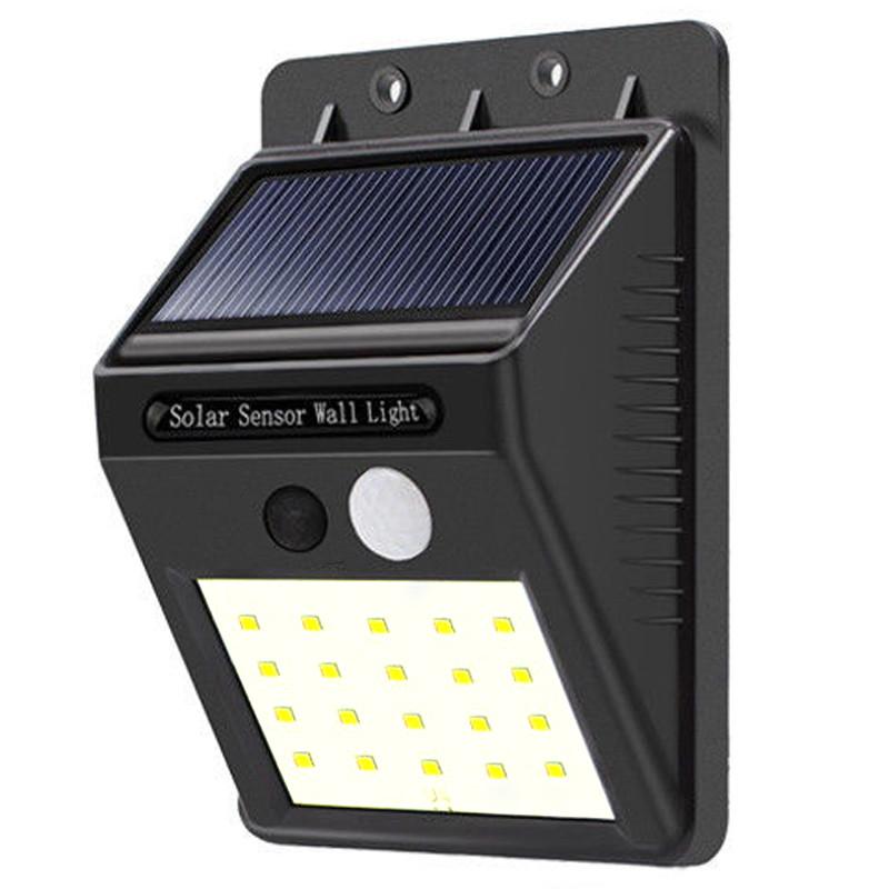 Универсальный светильник на солнечной панели с датчиком движения в блистере Ever Brite SH-A09-20 Smd 141134