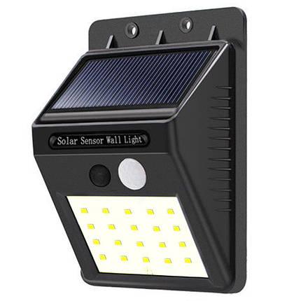 Универсальный светильник на солнечной панели с датчиком движения в блистере Ever Brite SH-A09-20 Smd 141134, фото 2