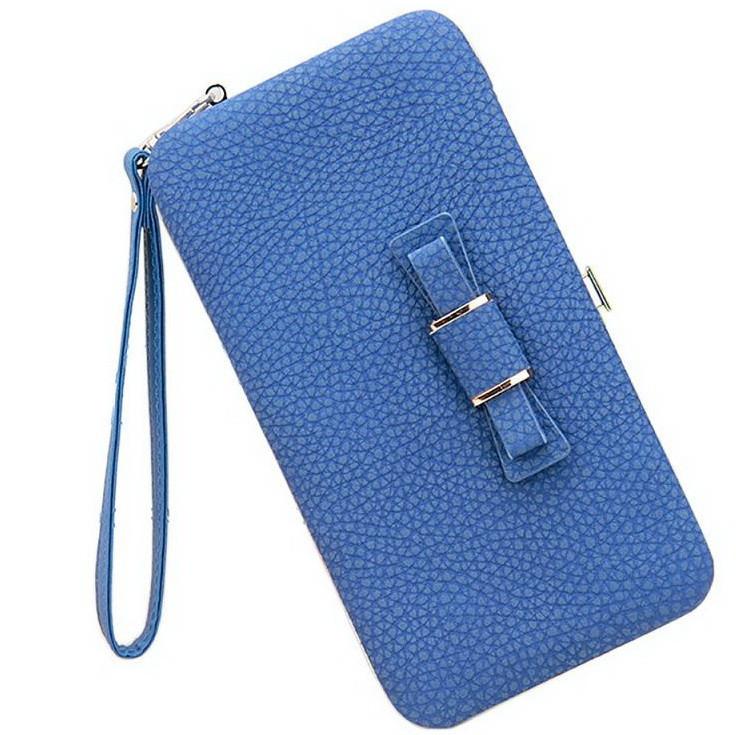 Кошелек женский клатч портмоне Baellerry n1330 Синий 170655