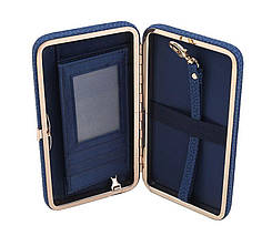 Кошелек женский клатч портмоне Baellerry n1330 Синий 170655, фото 2