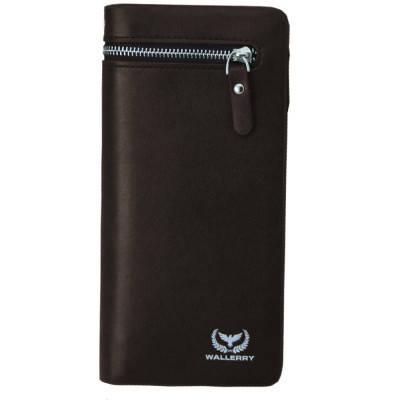 Мужское портмоне Кошелек 618 Wallerry Коричневый 154287, фото 2