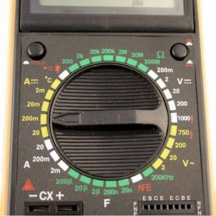 Мультиметр DT 9207A 179286, фото 2