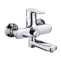 Кран для ванны однозахватный с длинным изливом Zerix Z3033 ZX0373, КОД: 2419296