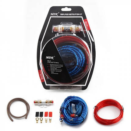 Набор проводов для установки саббуфера Kit MD A8G 181218, фото 2